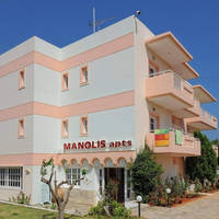 Manolis Apartments - Buitenaanzicht