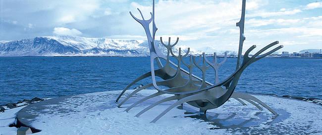 Reykjavik - Monument Sun Vogager