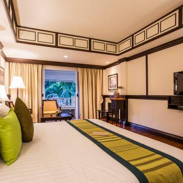 Wora Bura Hua Hin Resort - Voorbeeld Deluxe Kamer Wora Bura Hua Hin Resort and Spa