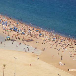 Barcelona- strand