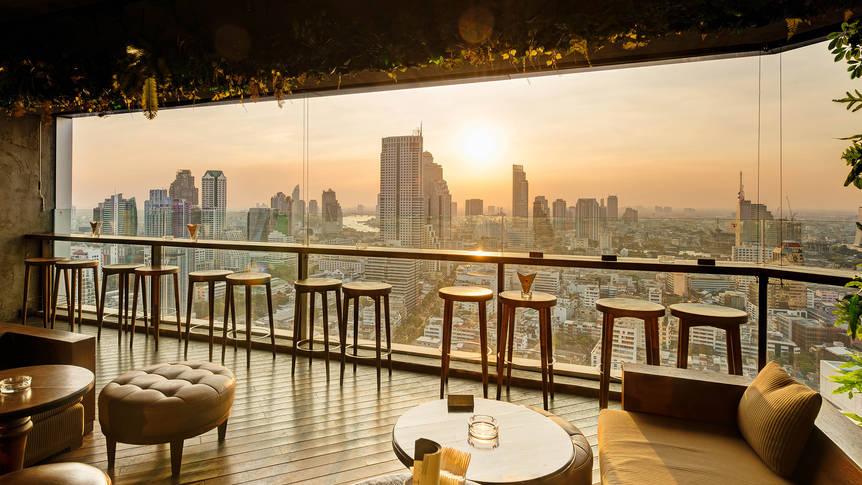Pullman Bangkok Hotel G - Uitzicht rooftop bar Pullman Bangkok Hotel G