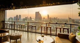 Pullman Bangkok Hotel G - Uitzicht rooftop bar