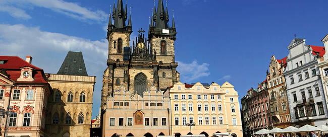 Centrum Praag