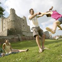 Familie Rochester Castle