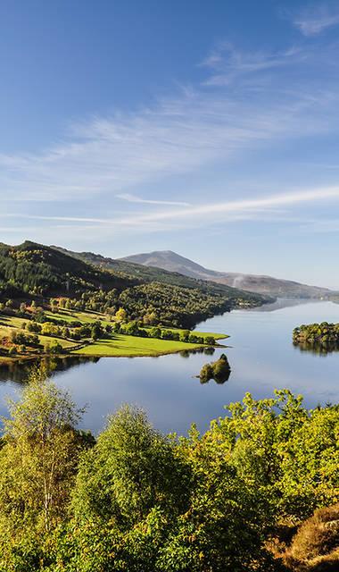 8-daagse busreis Pitlochry in het hart van Schotland