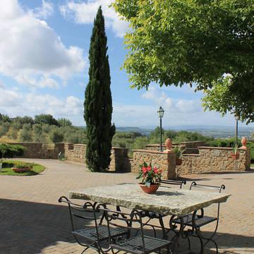Terras Appartementen Il Borgo di Montereggi