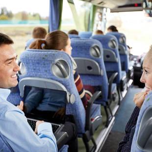 Gezellig in de bus