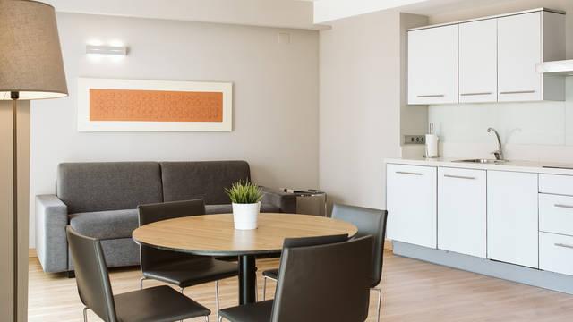 Woonkamer Appartementen ValenciaFlats Centro Ciudad
