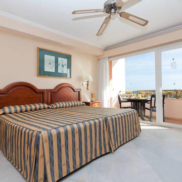 Voorbeeldkamer Zeezicht Hotel Marbella Playa