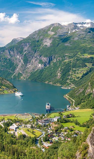 12-daagse busrondreis Het Mooiste van Noorwegen