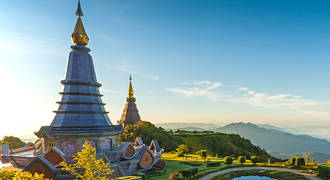 Pagoda in Thailand
