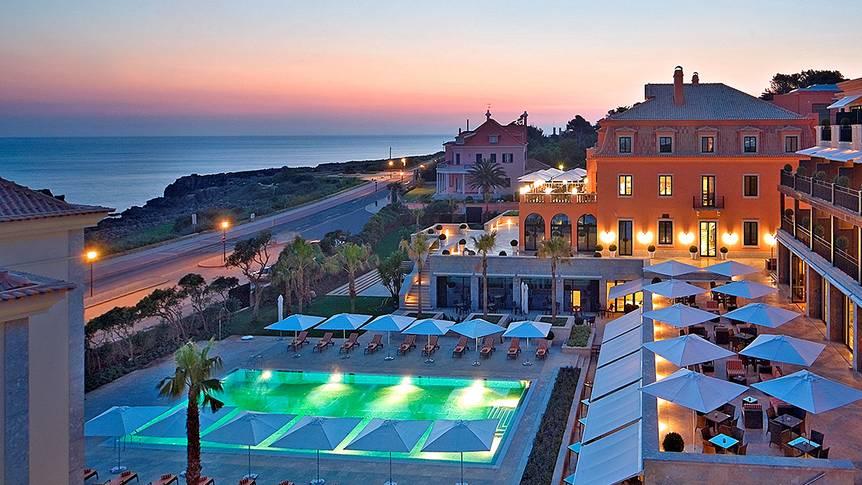 Grande Real Italia Vooraanzicht Hotel Grande Real Villa Italia & Spa