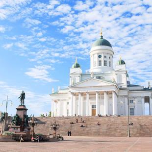 Dom van Helsinki, op ca. 15 minuten loopafstand van uw hotel!