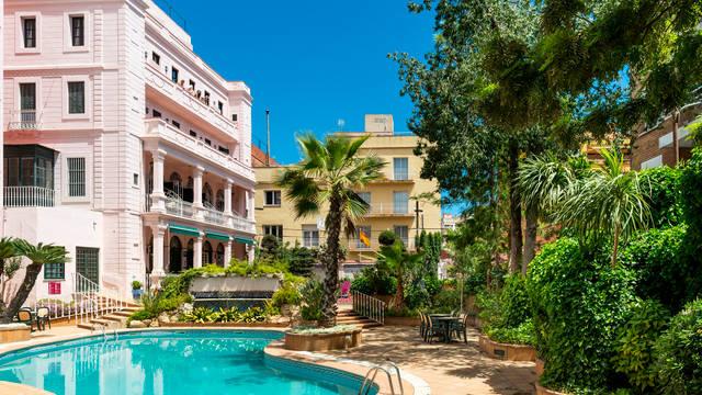 Zwembad Hotel Guitart Rosa