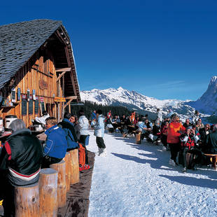 Bergrestaurant in Grindelwald
