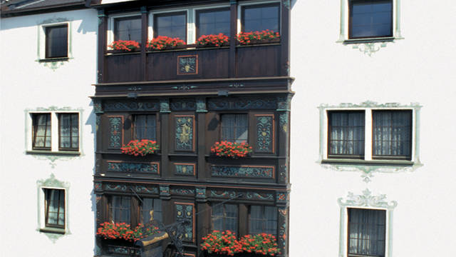 Voorzijde hotel Hotel Altdeutsche Weinstube