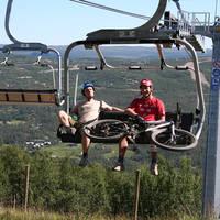 Geilo - skilift in de zomer