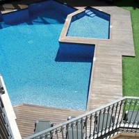 Zwembad luchtfoto