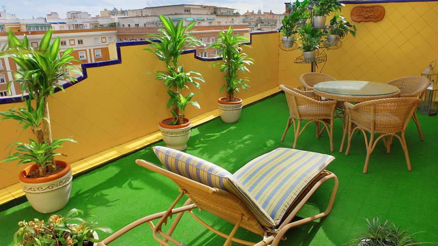 Terras Gran Hotel Conde Duque
