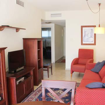 Voorbeeld woonkamer Albir Confort Estrella appartementen