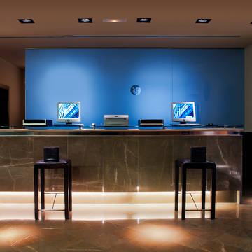 Receptie Hotel Eurostars Gran Valencia
