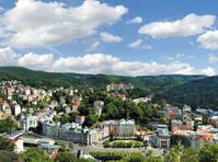 Stadsgezicht Karlovy Vary