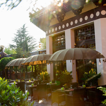 Restaurant Bamboo Hotel Ling Bao