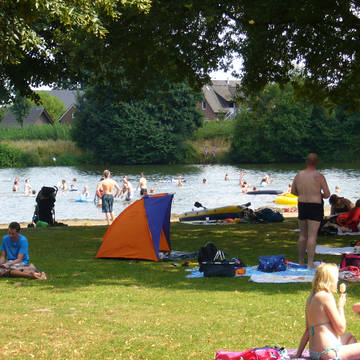 Zwemmeer Familiecamping Borken am See