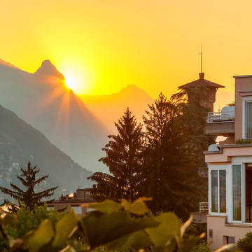 Vooraanzicht hotel Parco Paradiso