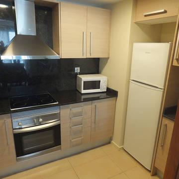 Keuken-2 Appartementen Trimar