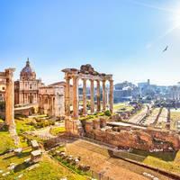 Forum Romanum op ca. 10 minuten wandelen