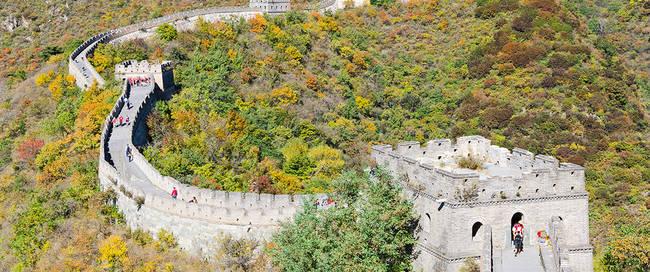 Grote Muur in Mutianyu