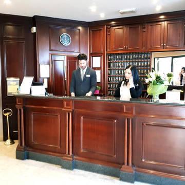 Receptie Hotel Pacific
