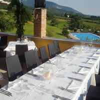 Villa Cariola - restaurant terras