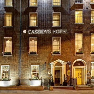 Voorzijde Hotel Cassidys