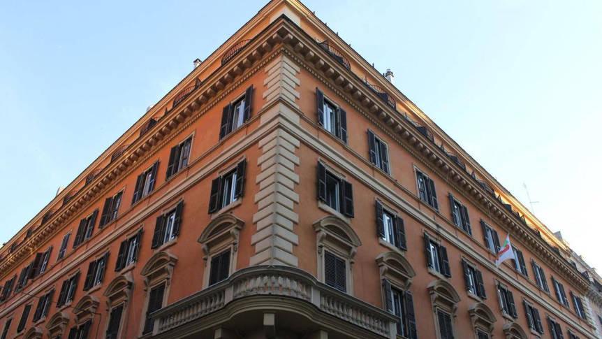 Vooraanzicht Hotel Garda