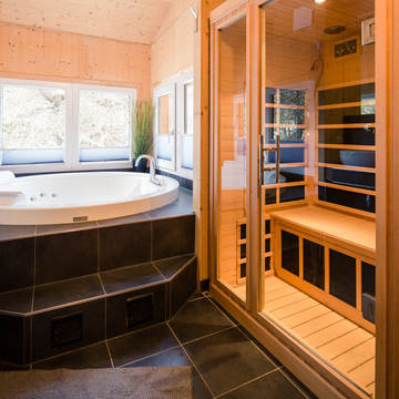 Voorbeeld badkamer Alpenpark Turracher Hohe