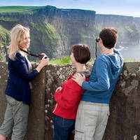 Cliffs of Moher met familie