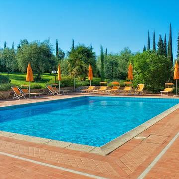 Zwembad Fattoria Vecchio Borgo di Inalbi