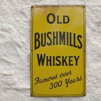 Bushmills whisky bord