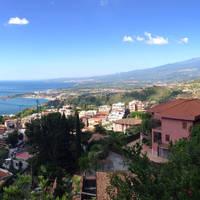 Villa Greta - uitzicht op de Etna