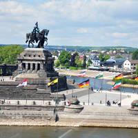 Koblenz - waar Rijn & Moezel samenkomen