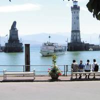 De haven  van Lindau