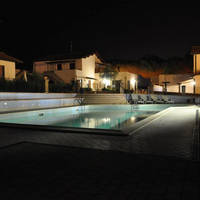 Zwembad avond