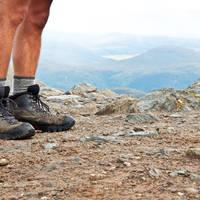 Wandelaar in Schotland