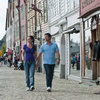 Stel in Bergen Bryggen
