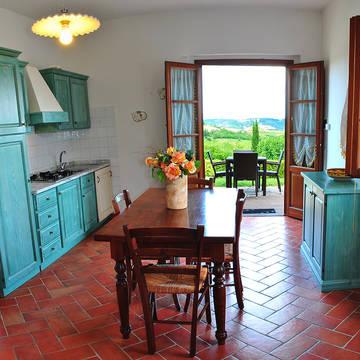 Keuken Appartementen Borgo di Collelungo
