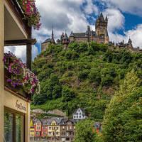 Uitzicht op de Reichsburg