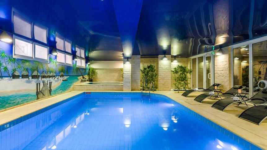 Zwembad Hotel Residence Europe