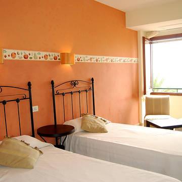 Voorbeeld kamers Hotel Maeva